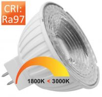 MR16 Dim-to-Warm RA97 6/50W 350mA 36GR GU5.3 18V