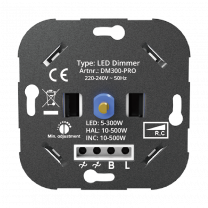 Dimmer DM300-PRO Leading - Trailing Edge Dimmer Switch