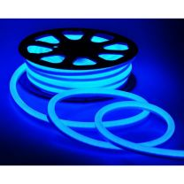 LED Strip IP68-240V 30 Meter NEON BLAUW