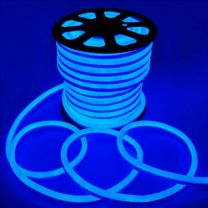 LED Strip IP68-24V 5 Meter NEON BLAUW 14MM