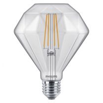 Philips LEDClassic 5W Diamond E27 2700K CL D 500lm