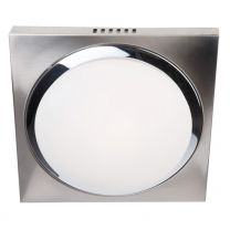 Plafondlamp Ceiling and wall Modern Staal / Wit 1369ST 18W 1440LM