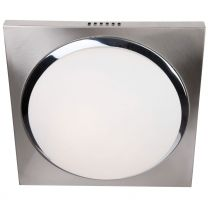 Plafondlamp Ceiling and wall Modern Staal / Wit 1370ST 24W 1920LM