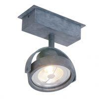 Spot Lenox spot LED Industrieel Grijs 1450GR 12W 600LM