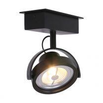 Spot Lenox spot LED Industrieel Zwart 1450ZW 12W 600LM