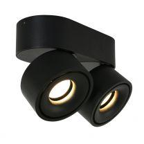 Spot Fez Black Modern Zwart 2674ZW 2x8W 2x600LM