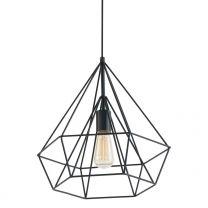 Hanglamp Jenno Trendy Zwart 7597ZW 60W
