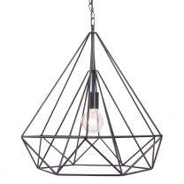 Hanglamp Jenno Trendy Zwart 7598ZW 60W