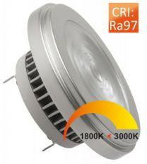AR111 DTW 12/75W DC36V 350mA DBT 24-45D RA97 Dim-to-Warm Dimtone