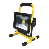 Accu LED Bouwlamp 20 Watt 6000K (daglicht) 1500 Lumen 8,8Ah Li-ion Accu oplaadbaar IP54