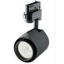 LED ColourDrop spot zwart 15W 36gr Camita 3.000K CRI>90 BBBL