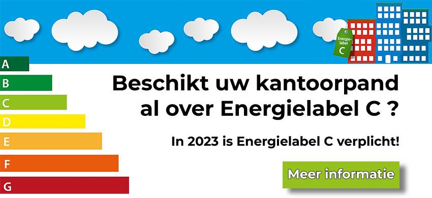 Kantoorpanden Verplicht Energielabel C