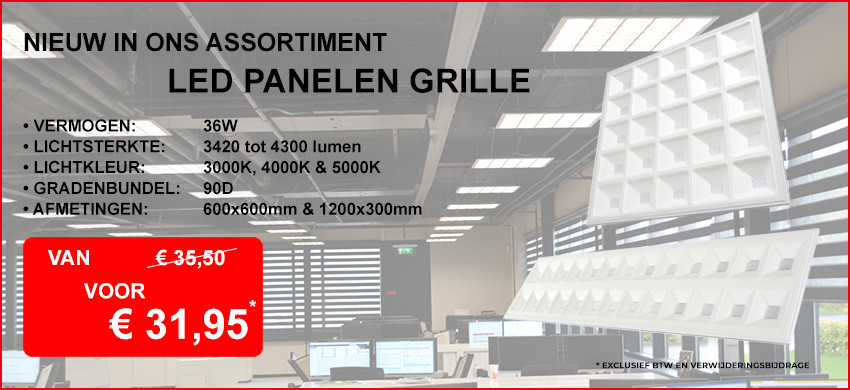 LED Paneel Grille