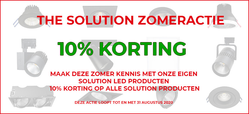The Solution LED Verlichting Series Actie